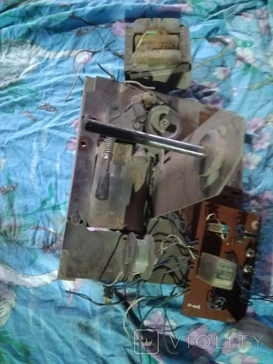 Лентопротяжка с трансформатором, фото №2