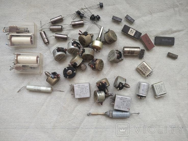 Радиодетали разные, фото №2
