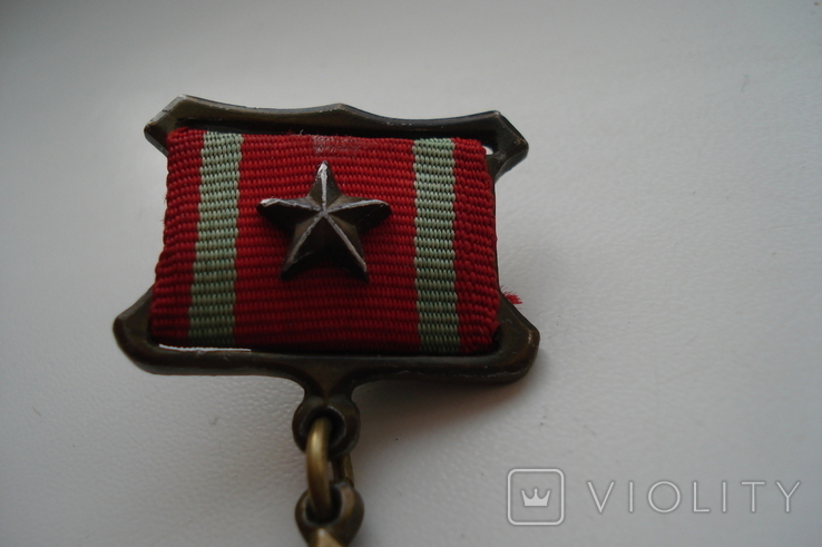 """Копия медали """"За отличие в воинской службе"""" 1 степень, фото №7"""