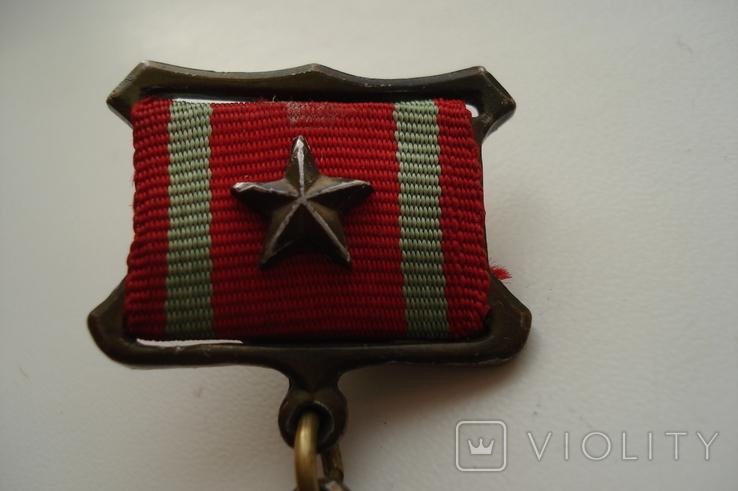 """Копия медали """"За отличие в воинской службе"""" 1 степень, фото №8"""
