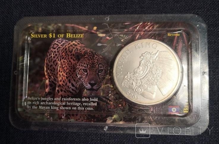1 доллар 2002 года, Белиз, фото №6