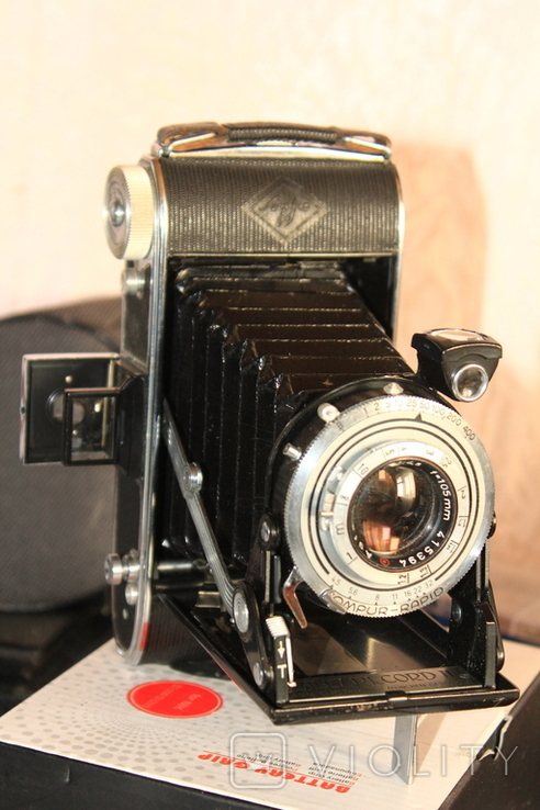 Фотокамера AGFA Billy Record II