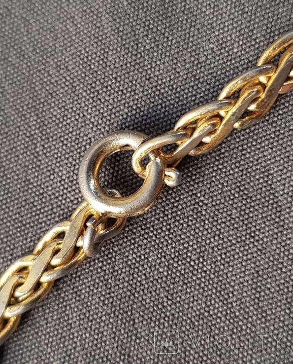 Браслет плоская цепь, фото №5