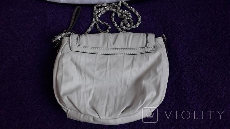 Сумочка Guess білого кольору, фото №4