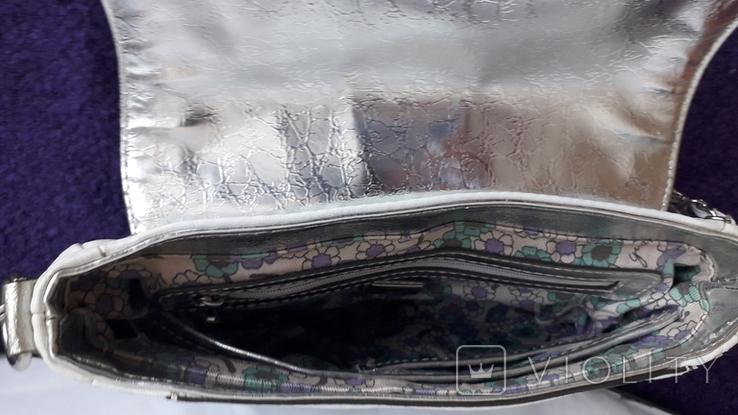 Сумочка Guess білого кольору, фото №9
