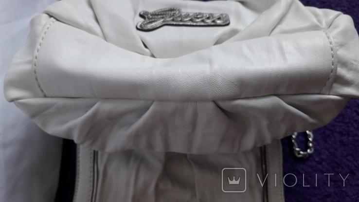 Сумочка Guess білого кольору, фото №12