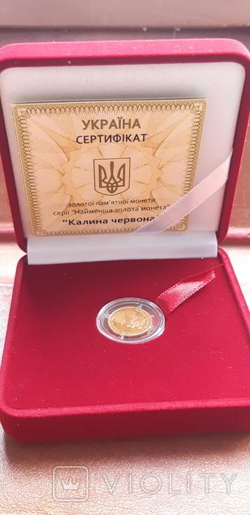Україна 2 гривні 2010 Калина червона, фото №3