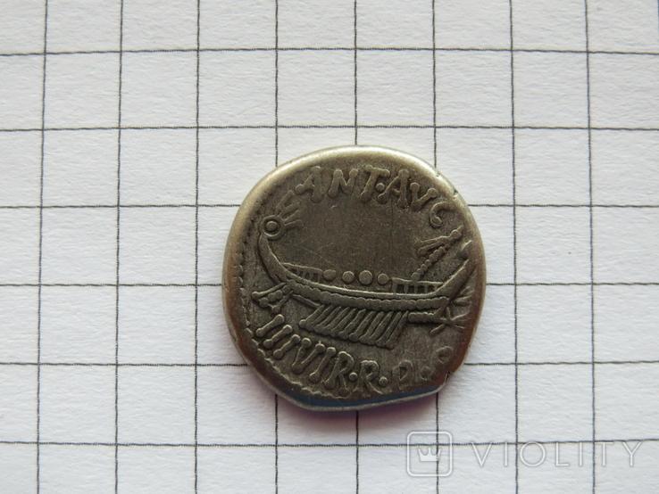 Марк Антоний, Динарий., фото №2