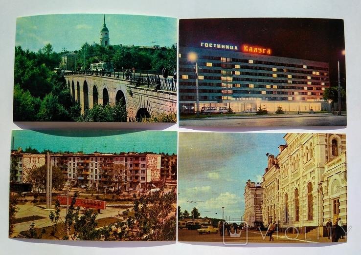 "Комплект открыток "" Калуга "" 1974 год 15 штук, фото №7"