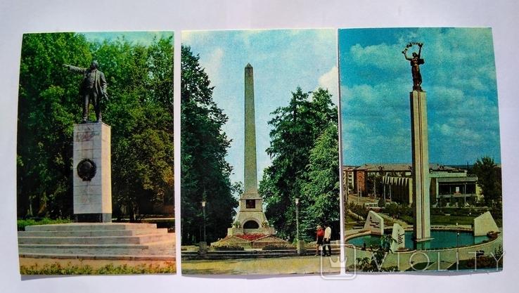 "Комплект открыток "" Калуга "" 1974 год 15 штук, фото №9"