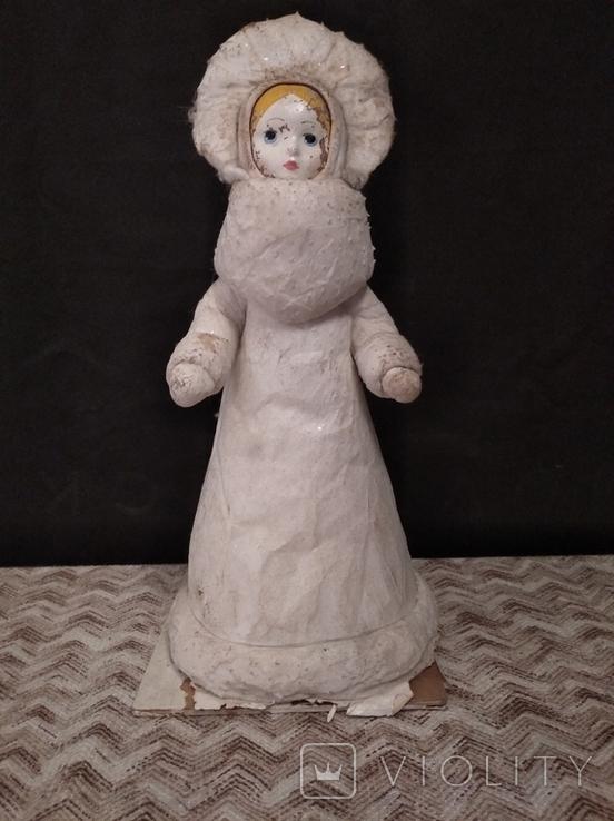Снегурочка под ёлку  , под реставрацию, фото №2