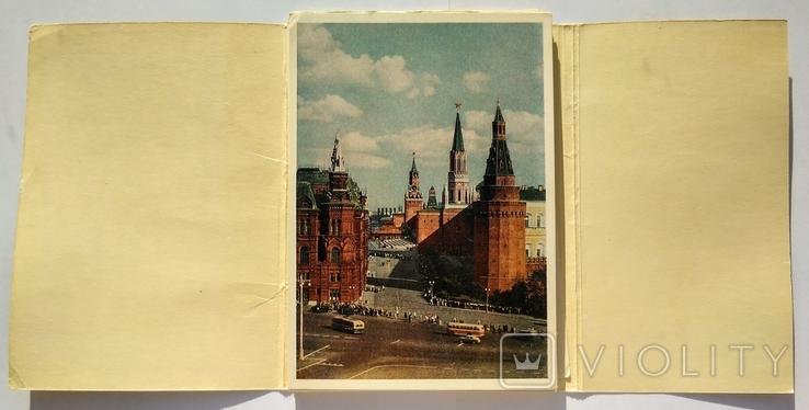 "Комплект открыток "" Москва "" 1956 год 24 штуки, фото №4"
