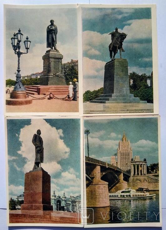 "Комплект открыток "" Москва "" 1956 год 24 штуки, фото №7"