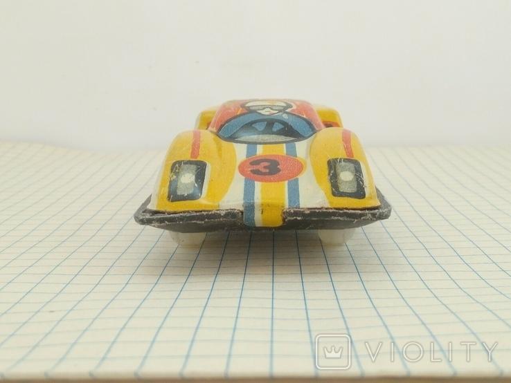 Игрушка СССР гоночная машинка, фото №7