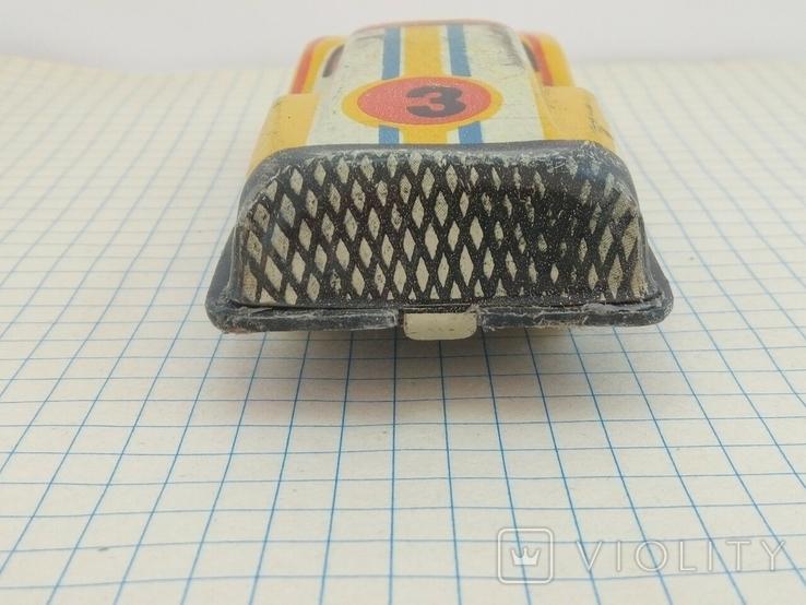 Игрушка СССР гоночная машинка, фото №8