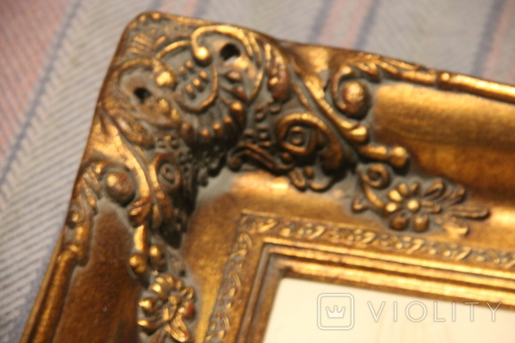 Картина  ,, Античний сюжет ,, Англія. Мраморная крошка. розмір в рамі 42Х37см./, фото №8