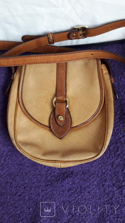 Вінтажна італійська сумка Etienne Aigner, фото №2