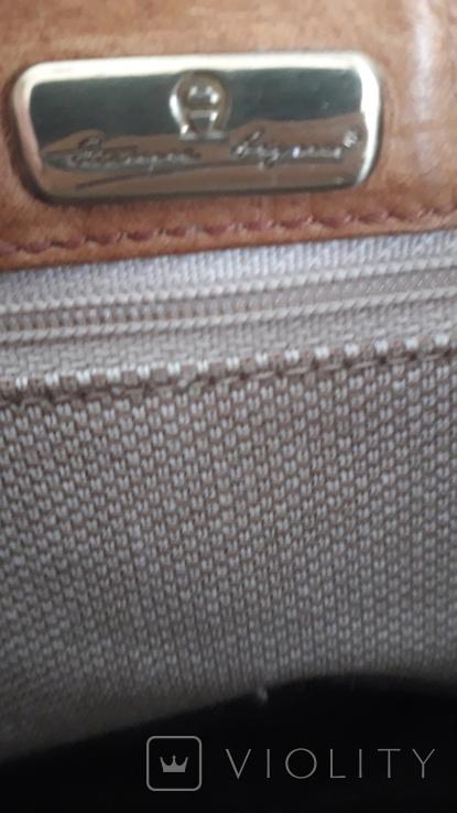 Вінтажна італійська сумка Etienne Aigner, фото №10