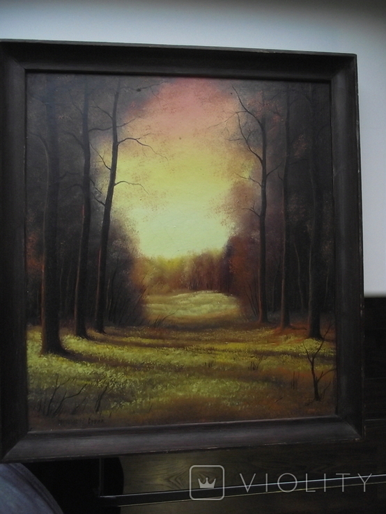Стрий Морозов 97 Пейзаж осени, фото №4