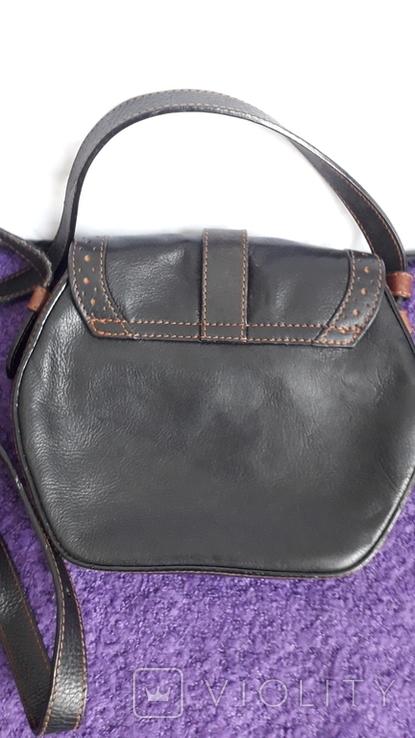 Вінтажна сумочка Etienne Aigner чорного кольору №2, фото №5