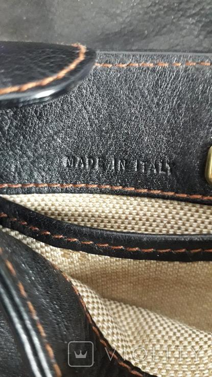 Вінтажна сумочка Etienne Aigner чорного кольору №2, фото №7