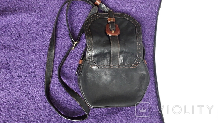 Вінтажна сумочка Etienne Aigner чорного кольору №2, фото №9