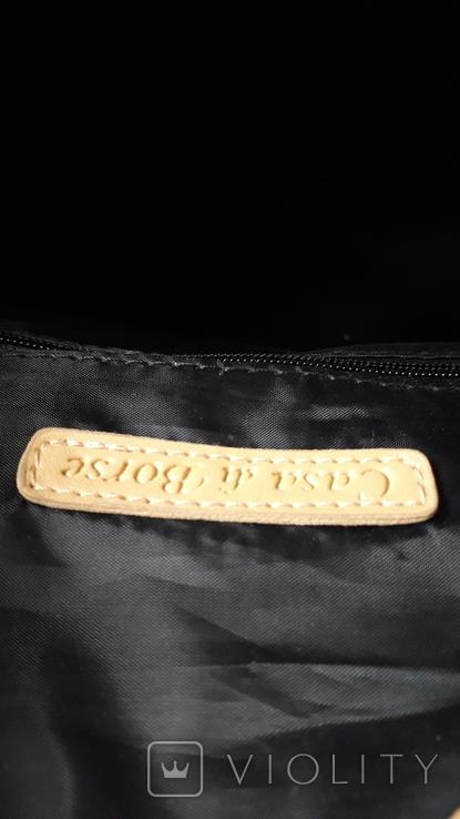 Дорожня сумка Casa di Borse леопардового принту, фото №10