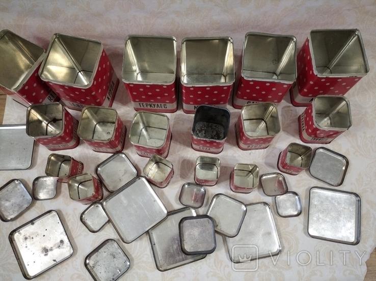 Полный набор банок для кухни, фото №7