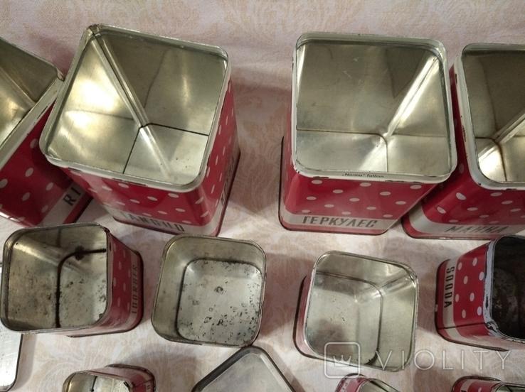 Полный набор банок для кухни, фото №8