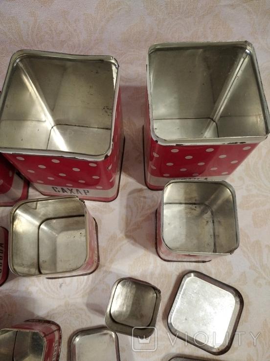 Полный набор банок для кухни, фото №9