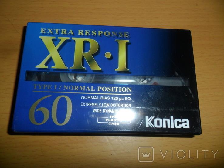 Аудиокассета Konica XR-I 60 новая запечатанная кассета аудио, фото №2