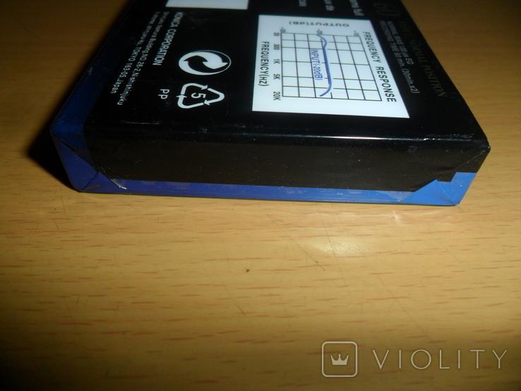 Аудиокассета Konica XR-I 60 новая запечатанная кассета аудио, фото №4