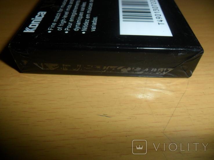 Аудиокассета Konica XR-I 60 новая запечатанная кассета аудио, фото №5