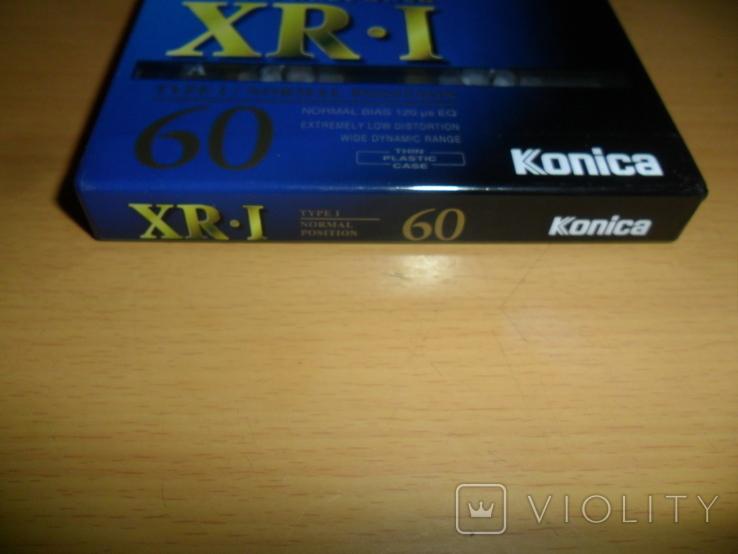 Аудиокассета Konica XR-I 60 новая запечатанная кассета аудио, фото №6