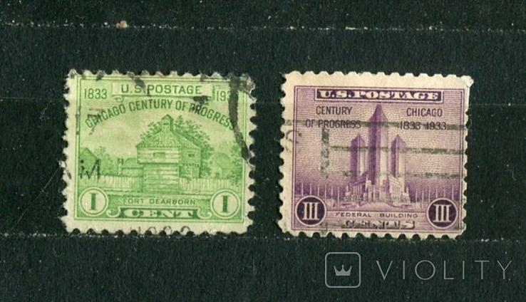 США, 100 лет Чикаго. 1933 г., фото №2