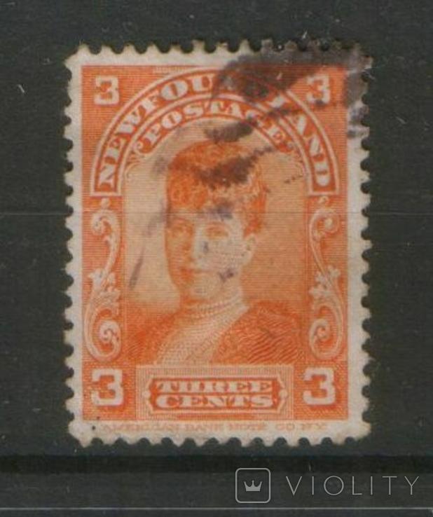 Брит. колонии. 1897 Ньюфаундленд, королева Александра, принцесса Уэльская