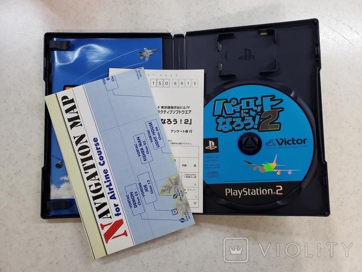 Pilot ni Narou 2 (PS2, NTSC-J)+Navigation Map, фото №4