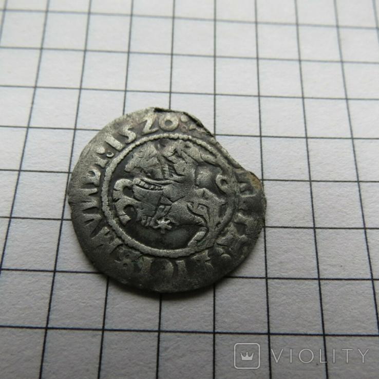 Полугрош Сигизмунд I Старый 1520 г., фото №3