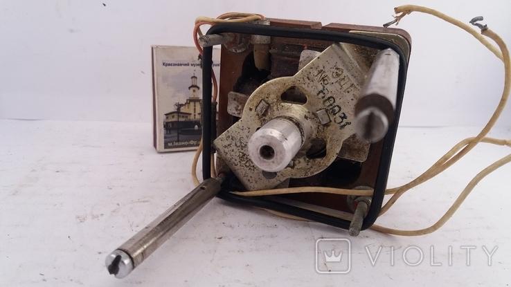 Двигун ЭДГ-1 для бабінного магнітофона, фото №3