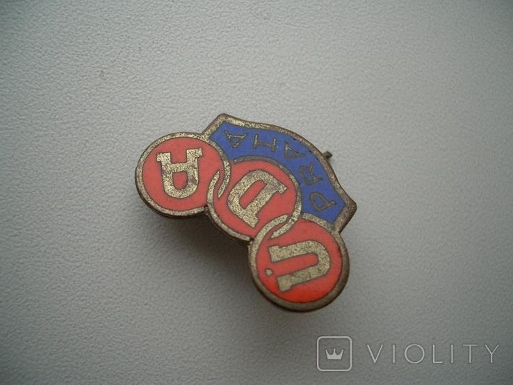 Знак Чехословакия,футбольный клуб 1953-56 гг Прага, фото №5