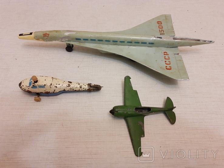 Лот авиации(инерционные), фото №2
