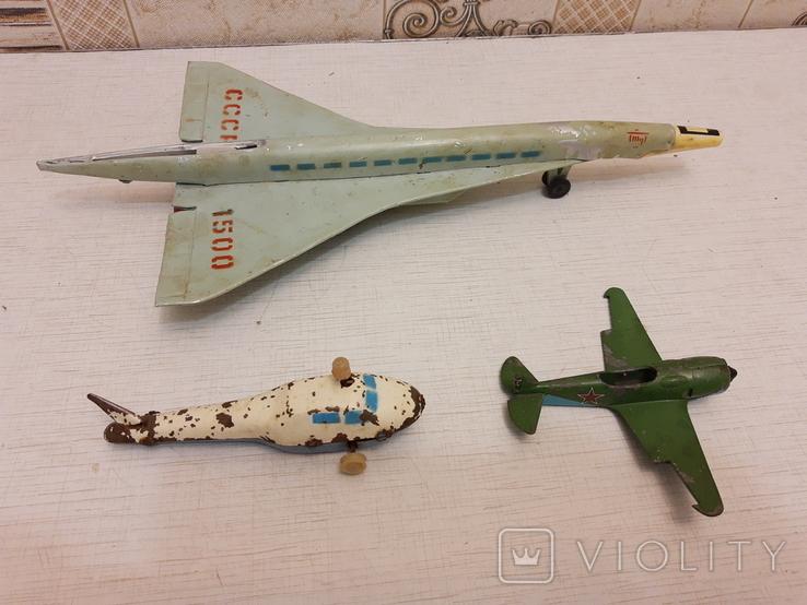 Лот авиации(инерционные), фото №3