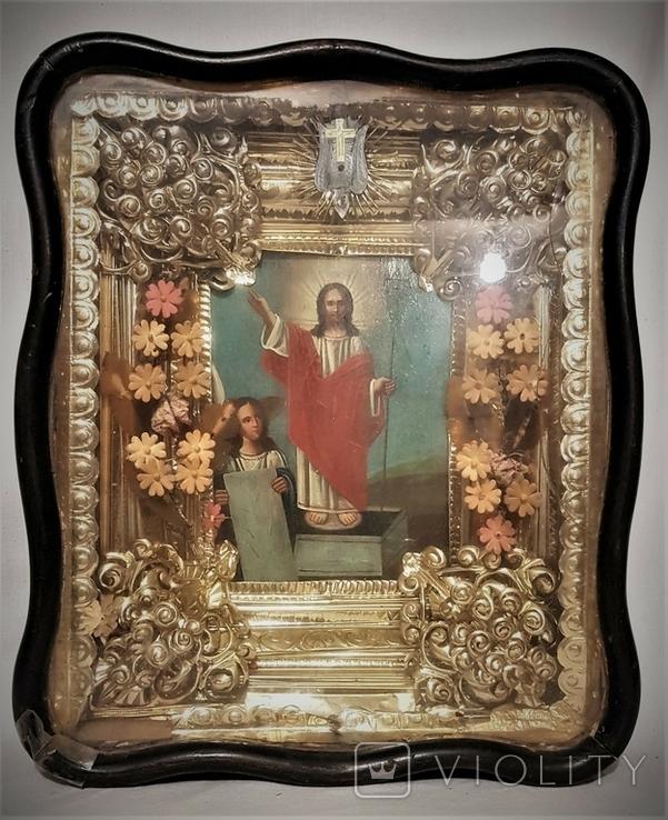 Икона Воскресение Христово . Большой размер., фото №2