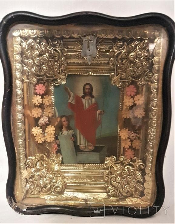 Икона Воскресение Христово . Большой размер., фото №6