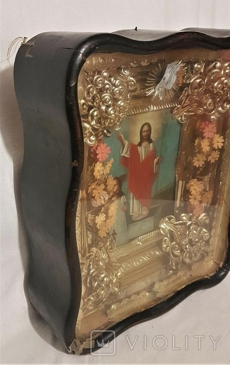 Икона Воскресение Христово . Большой размер., фото №8