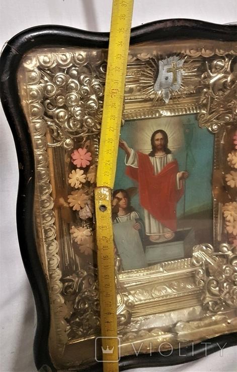 Икона Воскресение Христово . Большой размер., фото №10