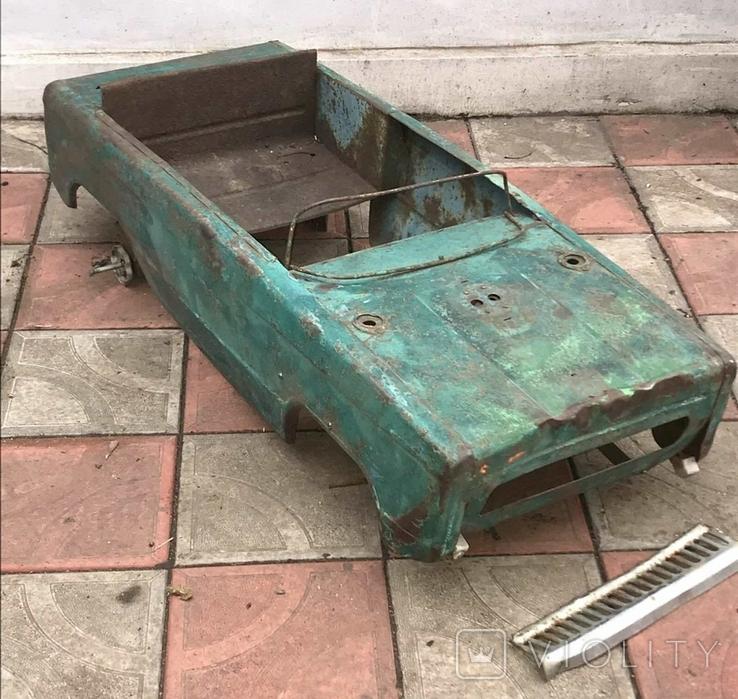 Кузов  педальной машинки., фото №3