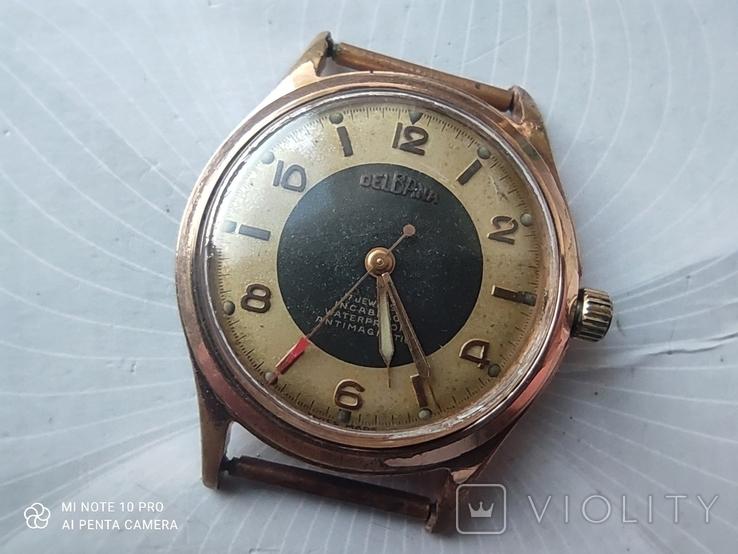 Часы DELBANA позолота