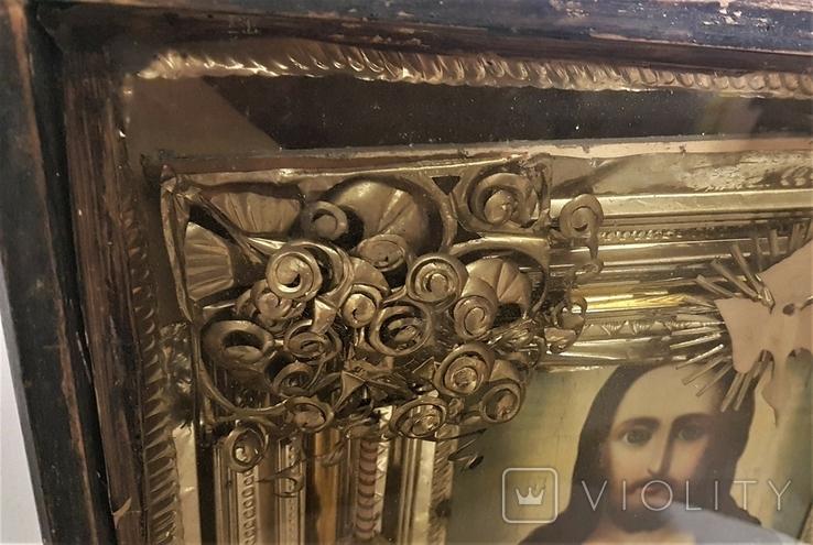 Икона Иисус Христос . Большой размер., фото №4