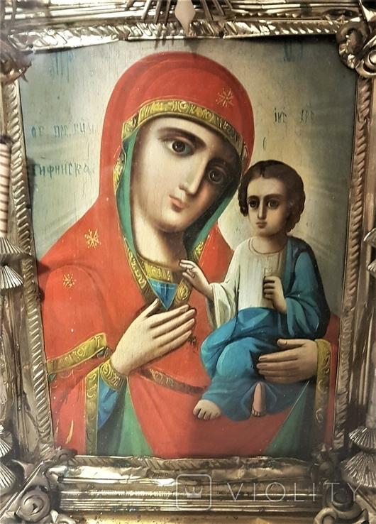 Икона Матерь Божья, образ пресвятой Богородицы. Большой размер., фото №3